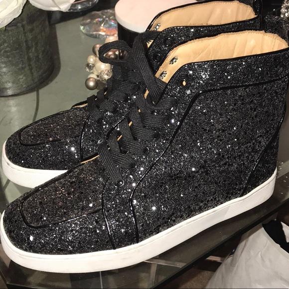 e54861d4515 Black Glitter Sneakers